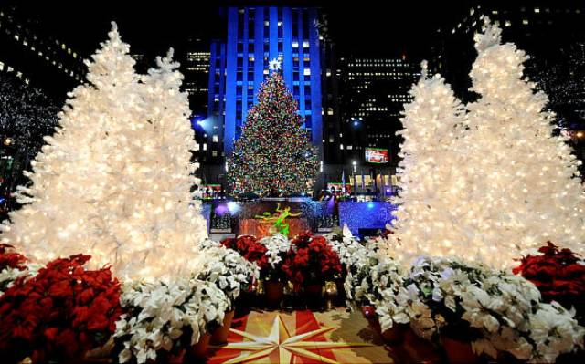 Rockefeller Center Weddings in the Winter