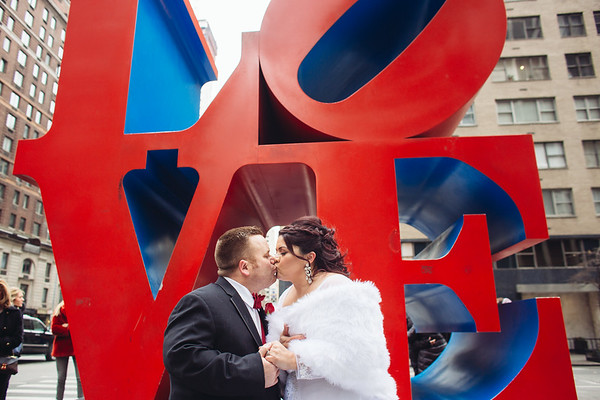 Valentine's Day Wedding in New York