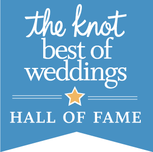 "The Knot-Best of Weddings ""Hall of Fame"" Award 2016"