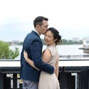 Elopement at The High Line Park in New York City