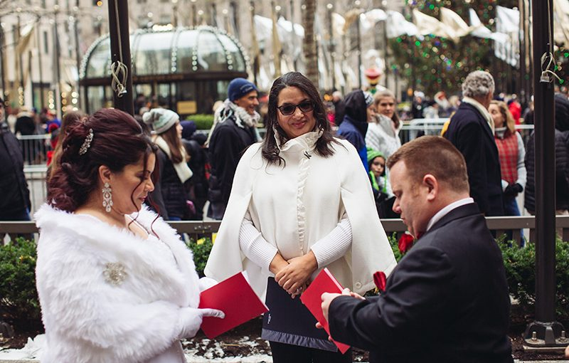 Book Your Rockefeller Center Elopement And Vow Renewal Today New York Wedding Officiant